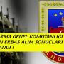 Uzman Erbaş Asayiş, Lojistik ve MEBS Atama Duyuruları Yayınlandı !