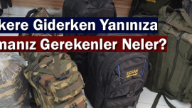 Askere Giderken Yanınıza Almanız Gereken Malzemeler Listesi