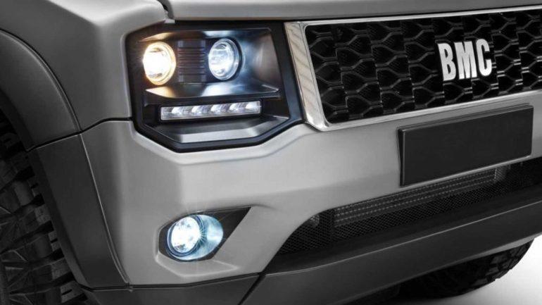 Teknofest'te Tanıtılan Yeni BMC Pickup Modeli