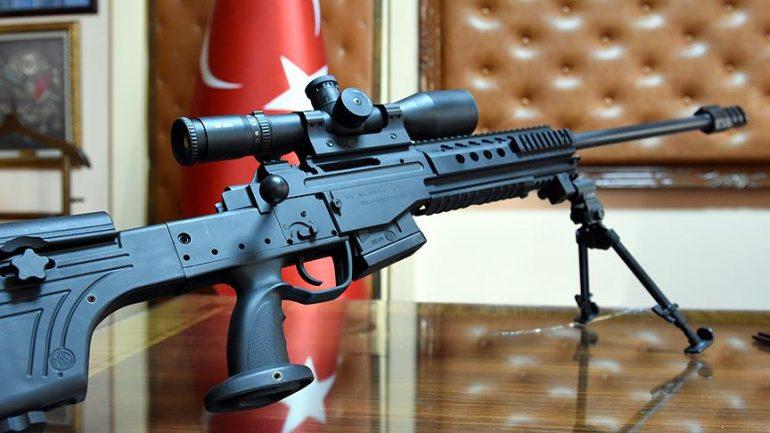 Bora 12 (JNG-90) Milli Keskin Nişancı Tüfeği