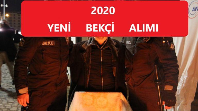 2020 Bekçi Alımı